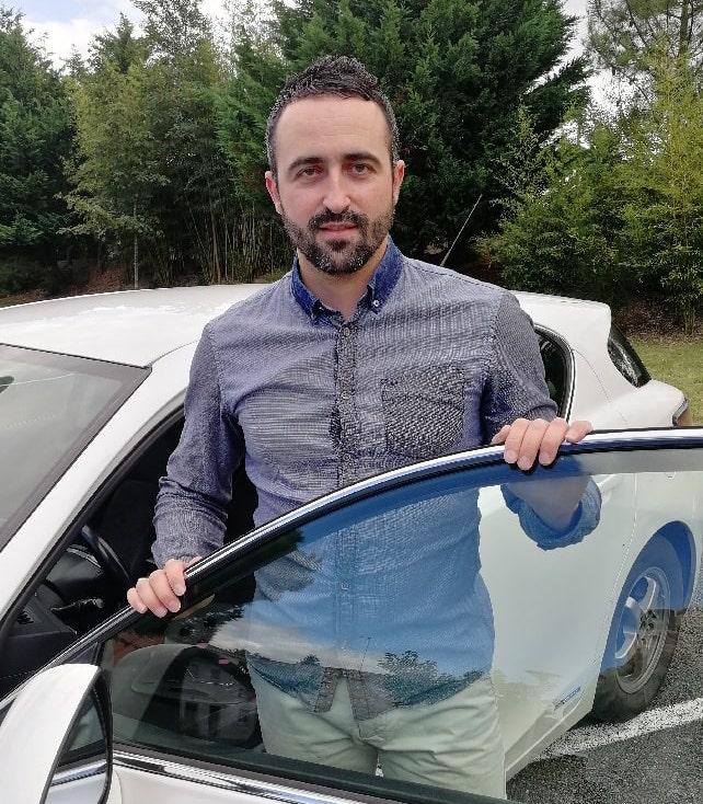 Cédric Nuin, votre chauffeur